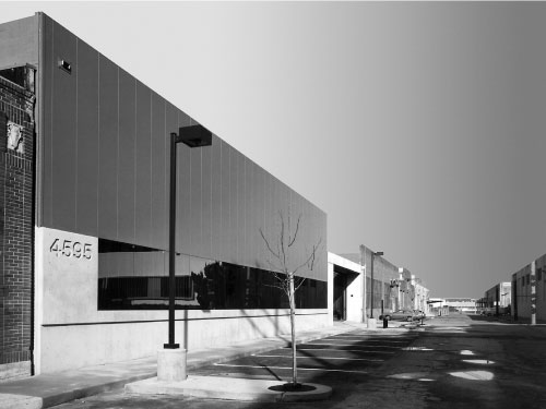 Production building in Emeryville, CA